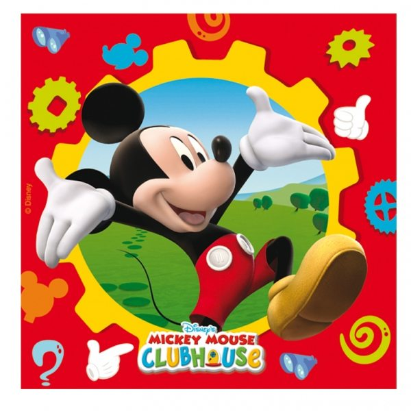 Mickey Mouse Party Paper Napkins