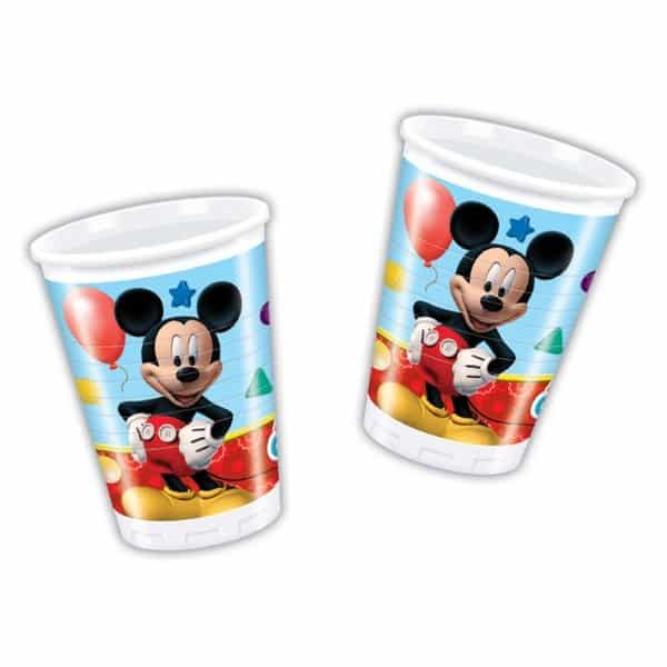 Mickey Mouse Plastic Party Cups