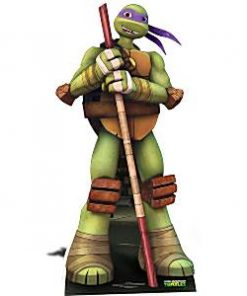 Ninja Turtle Party Donatello Cardboard Cutout