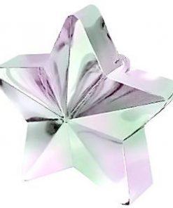 Iridescent Pink Star Balloon Weight