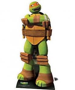 Ninja Turtle Party Michelangelo Cardboard Cutout