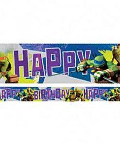 Ninja Turtle Party Foil Banner