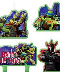 Ninja Turtles Party Birthday Cake Candles