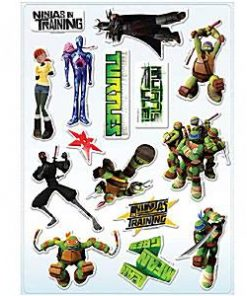 Ninja Turtles Party Bag Fillers - Sticker Strips
