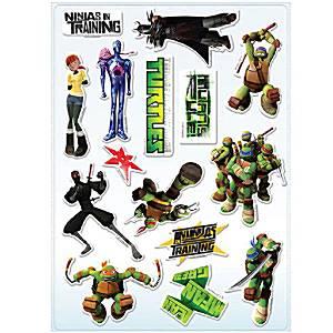 Ninja Turtles Party Bag Fillers - Sticker Strips
