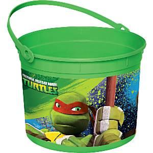 Ninja Turtles Party Favour Bucket