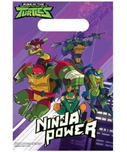Ninja Turtles Party Plastic Loot Bags