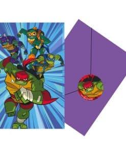 Ninja Turtles Party Invites