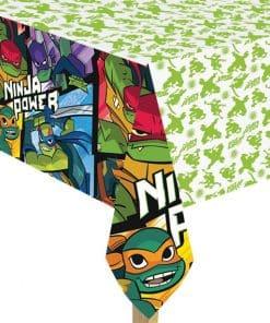 Rise of Teenage Mutant Ninja Turtles Plastic Tablecover - 1.8m x 1.2m