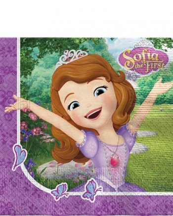 Sofia the First Party Paper Napkins