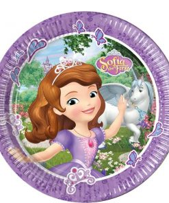 Sofia the First Party Paper Plates