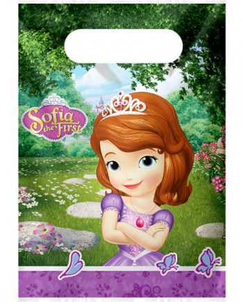 Sofia The First Party Plastic Loot Bags