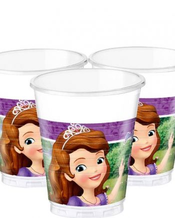 Sofia the First Party Plastic Cups