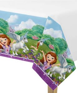 Sofia the First Party Plastic Tablecover