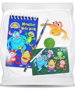 Pre-filled Monster Themed Bag