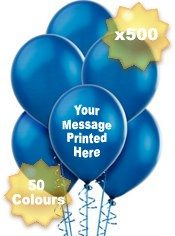 Cheap & Quick Custom Printed Balloons in the UK
