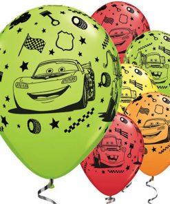 Disney Cars 3 Party Printed Latex Balloons