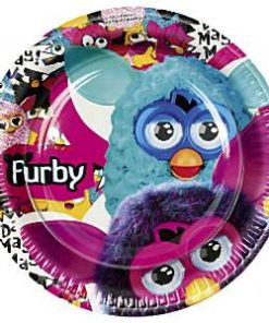 Furby Party Paper Plates