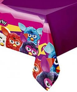 Furby Party Plastic Tablecover