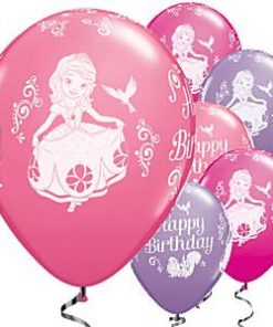Sofia The First Printed Balloons