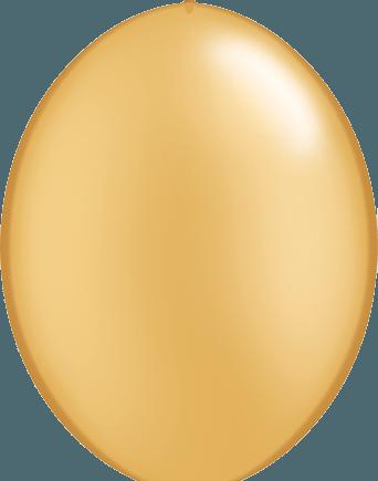 Gold Quicklink Latex Balloons