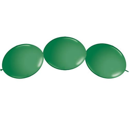Green Quicklink Latex Balloons