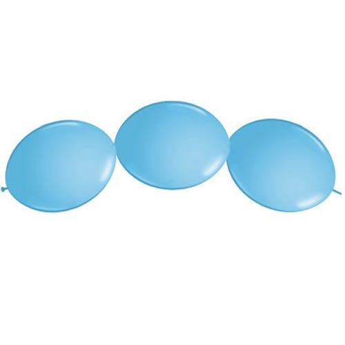 Pale Blue Quicklink Latex Balloons