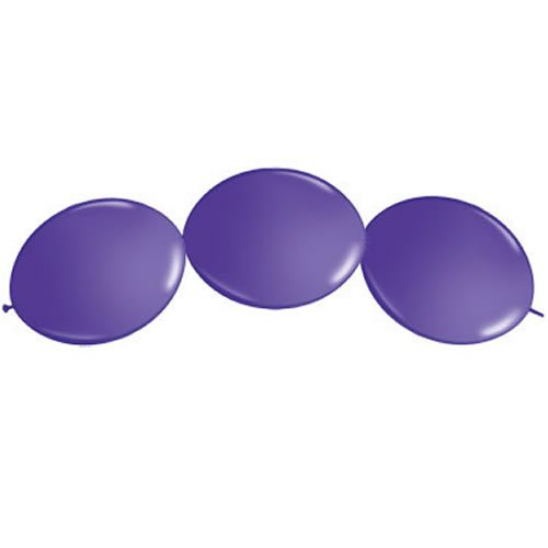 Purple Violet Quicklink Latex Balloons
