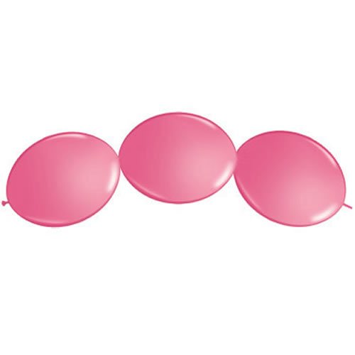 Rose Pink Quicklink Latex Balloons