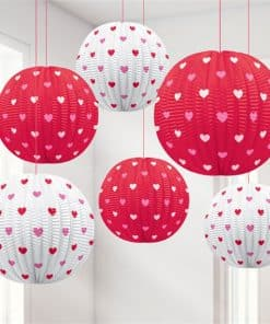Valentines Mini Hanging Lanterns