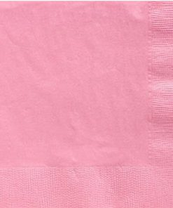 Baby Pink Party Paper Dinner Napkins