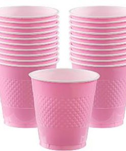 Baby Pink Party Plastic Cups