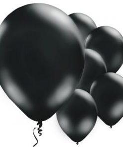 Black Latex Balloons -