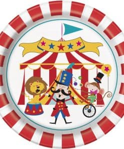 Circus Carnival Party Paper Dessert Plates