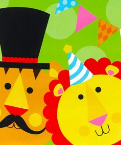 Circus Party Paper Napkins