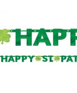 Happy St Patrick's Day Letter Banner