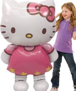 Hello Kitty Airwalker Balloon 50 Tall