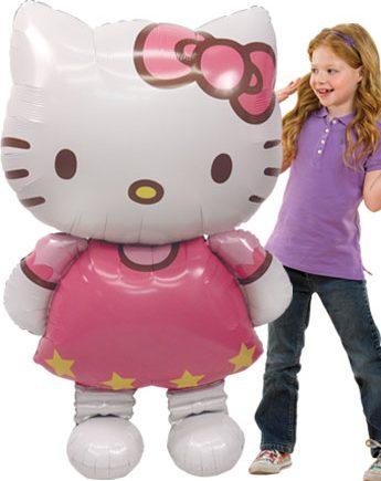 Hello Kitty Airwalker Balloon 50 Tall