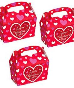 Happy Valentines Day Mini Treat Boxes