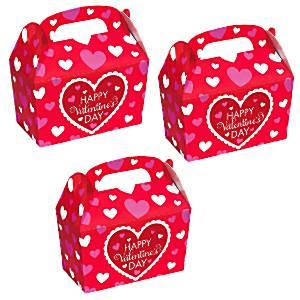 Happy Valentines Day Mini Treat Boxes