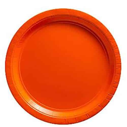 orange paper plates Dart solo restaurant supplies and equipment  plates, platters  use dart solo paper french fry cups to serve delicious fried concessions at your carnival or.