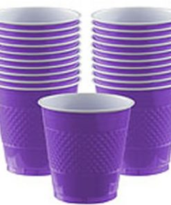 Purple Party Plastic Cups