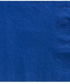 Royal Blue Party Paper Dinner Napkins
