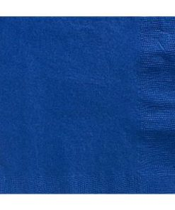 Royal Blue Party Paper Lunch Napkins