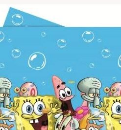 Spongebob Square Pants Party Tablecover