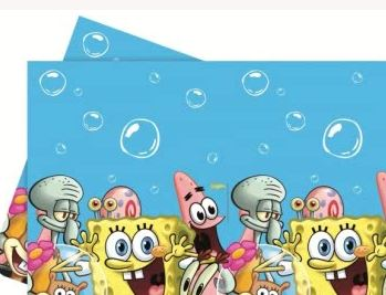 Spongebob Square Pants Party Tablecover