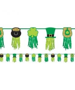 St Patricks Day Tissue Garland