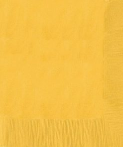 Sunshine Yellow Dinner Napkins