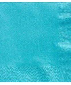Turquoise Dinner Paper Napkins