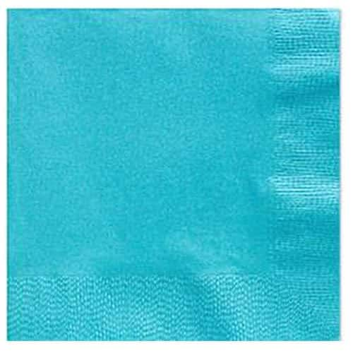 Turquoise Dinner Paper Napkins